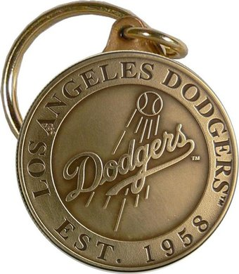 Baseball - Los Angeles Dodgers - Bronze Key Chain