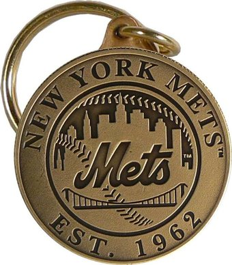 Baseball - New York Mets - Bronze Key Chain