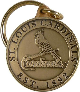 St. Louis Cardinals - Bronze Key Chain
