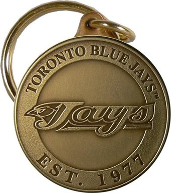 Toronto Blue Jays - Bronze Key Chain
