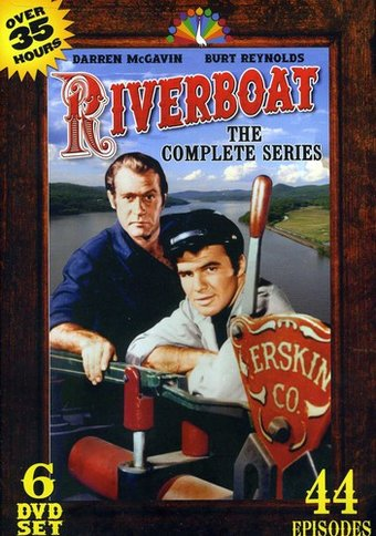 Riverboat - Complete Series (6-DVD)