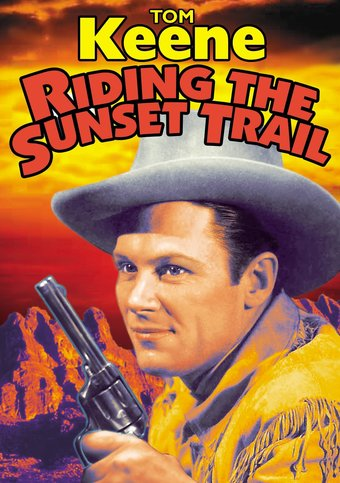 "Riding the Sunset Trail - 11"" x 17"" Poster"