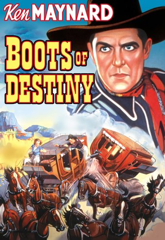 "Boots of Destiny - 11"" x 17"" Poster"
