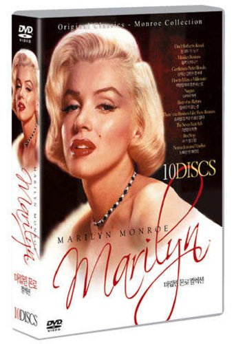 Marilyn Monroe Collection (10-DVD) [Korean Import]