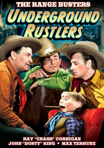 "The Range Busters - Underground Rustlers - 11"" x"