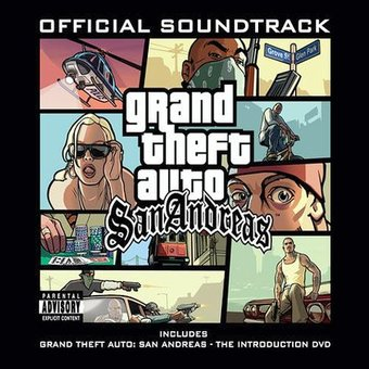 Grand Theft Auto: San Andreas (2-CD)