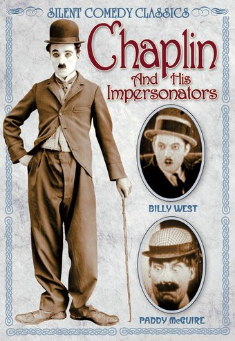 "Chaplin and His Impersonators - 11"" x 17"" Poster"
