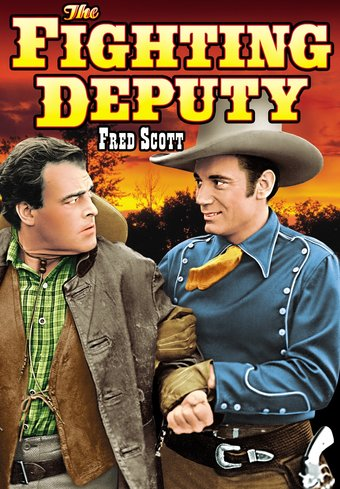 "The Fighting Deputy - 11"" x 17"" Poster"