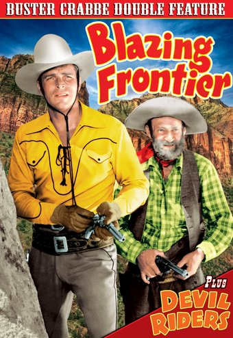 Buster Crabbe Double Feature: Blazing Frontier /
