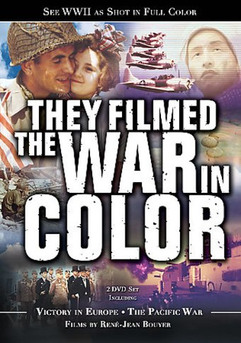 WWII - They Filmed in Color: Victory in Europe /