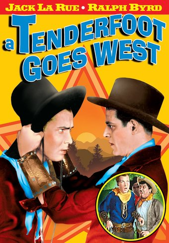 "A Tenderfoot Goes West - 11"" x 17"" Poster"
