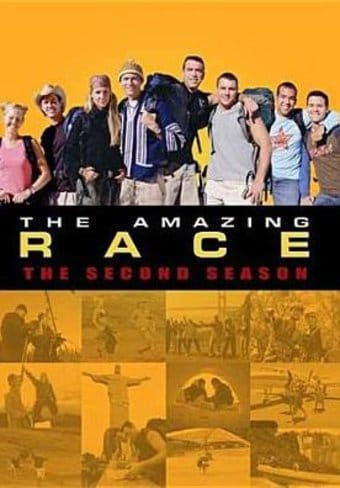 Amazing Race - Season 2 (3-Disc)