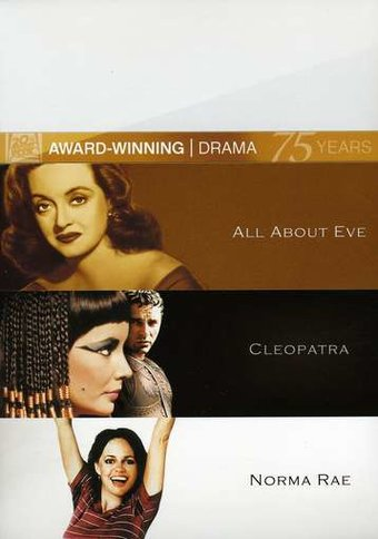 All About Eve / Cleopatra / Norma Rae (3-DVD)