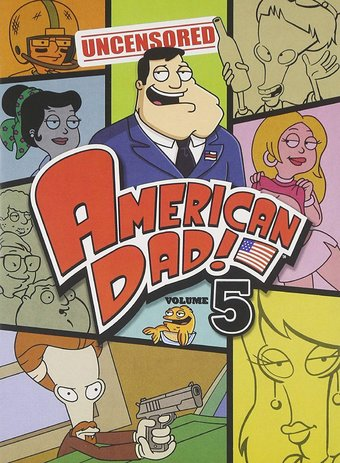 American Dad! - Volume 5 (3-DVD)