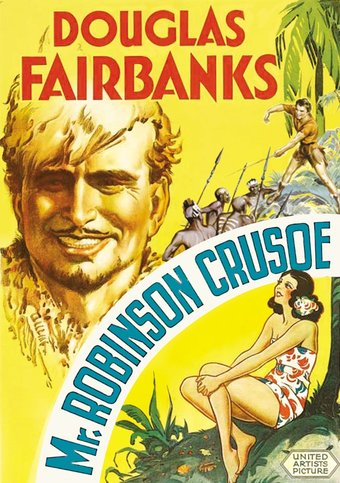 "Mr. Robinson Crusoe - 11"" x 17"" Poster"