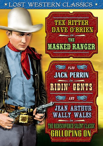 Lost Western Classics: The Masked Ranger (1948) /