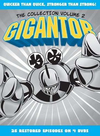 Gigantor - Collection - Volume 2 (4-DVD)