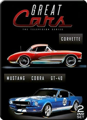 Cars - Great Cars: Corvette / Mustang/Cobra/GT40