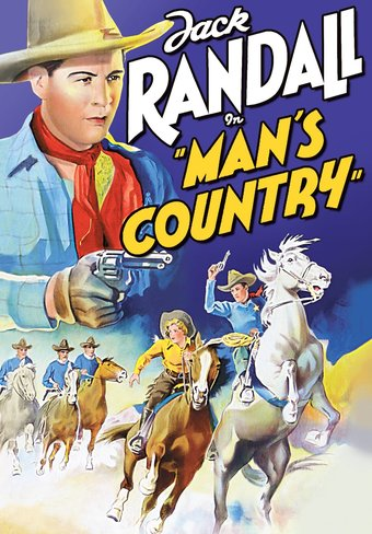 "Man's Country - 11"" x 17"" Poster"
