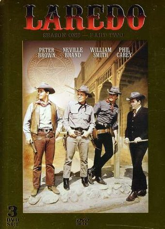 Laredo - Season 1: Part 2 (3-DVD)