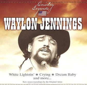 Waylon Jennings Country Legends St Clair Cd 2004