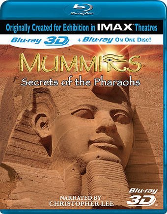 Mummies: Secrets of the Pharaohs (Blu-ray, 3D)