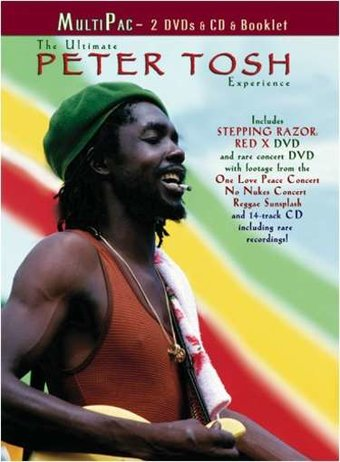 The Ultimate Peter Tosh Experience (2-DVD + CD
