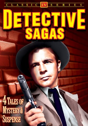 Detective Sagas: 4 Tales of Mystery & Suspense -