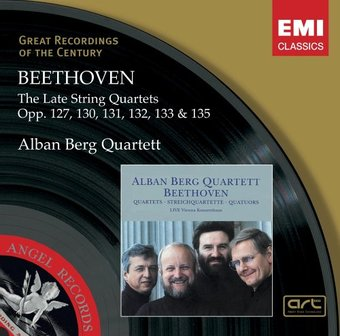 Beethoven: Late String Quartets, Opp.