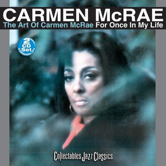 Art of Carmen McRae / For Once In My Life (2-CD)