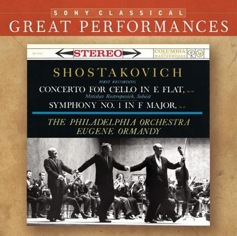 Shostakovich: Concerto for Cello in E flat /