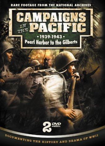 WWII - Campaigns in the Pacific, 1939-1943 (2-DVD)