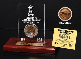 Baseball - Angels - Stadium Infield Dirt Coin
