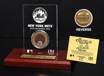 Baseball - CitiField Infield Dirt Coin Etched