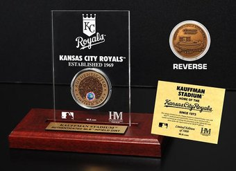 Baseball - Kauffman Stadium Infield Dirt Coin