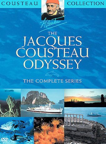 The Jacques Cousteau Odyssey The Complete Series 6 Dvd
