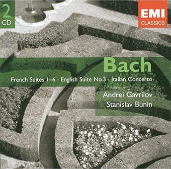 Bach: French Suites, Nos. 1-6 / English Suite,