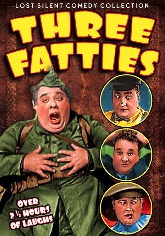"Three Fatties: Silent Comedy Collection - 11"" x"