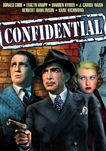 "Confidential - 11"" x 17"" Poster"