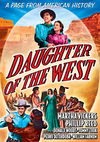 "Daughter of the West - 11"" x 17"" Poster"