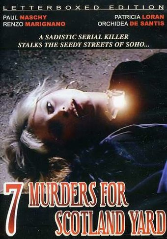7 Murders For Scotland Yard (Letterboxed Edition)