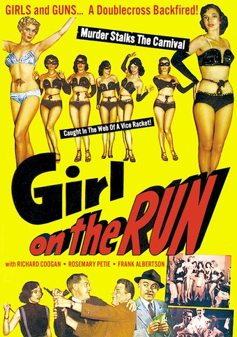 "Girl on the Run - 11"" x 17"" Poster"
