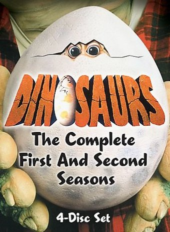 Dinosaurs - Complete 1st & 2nd Seasons (4-DVD)