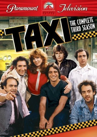 taxi complete 3rd season 4 dvd 1980 television on starring danny devito andy kaufman. Black Bedroom Furniture Sets. Home Design Ideas