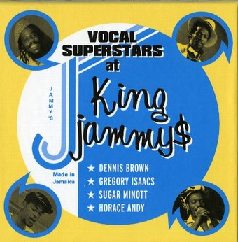 Vocal Superstars At King Jammy's (4-CD)