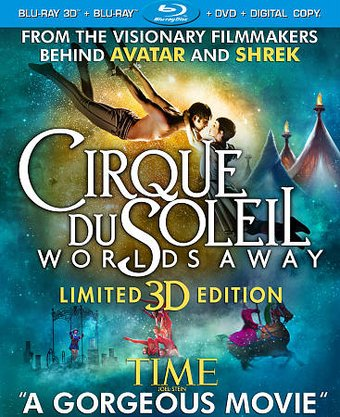 Cirque du Soleil - Worlds Away 3D (Blu-ray + DVD)