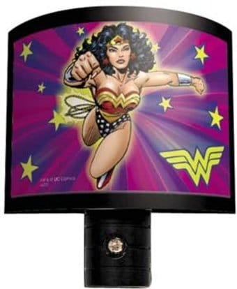 Wonder Woman - Flying - Night Light