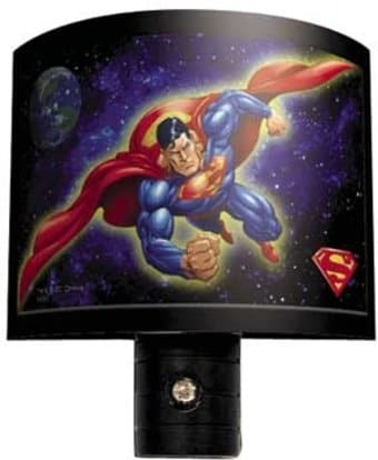 DC Comics - Superman - Flying - Night Light
