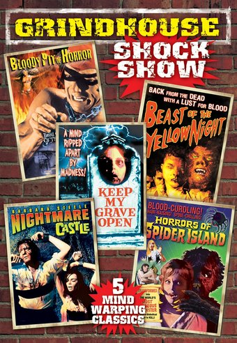 "Grindhouse Shock Show - 11"" x 17"" Poster"