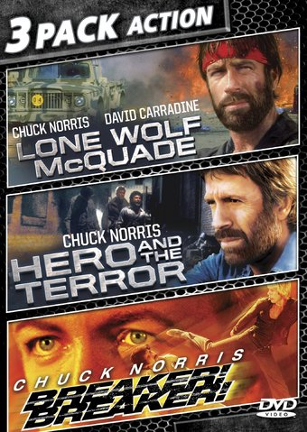 3 Pack Action: Lone Wolf McQuade / Hero and the